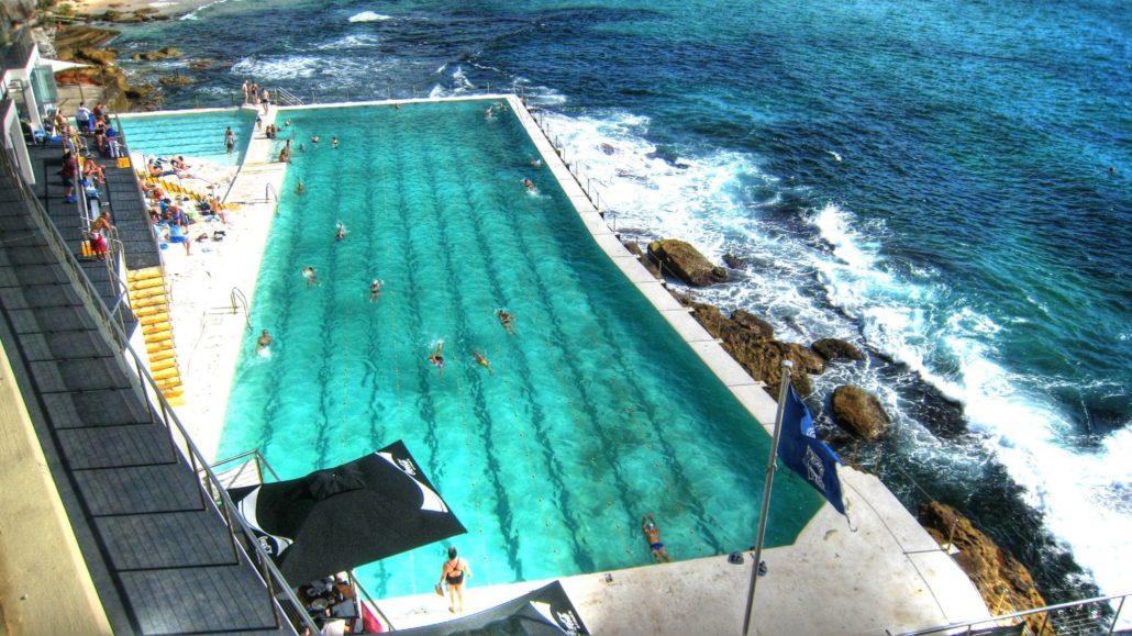 Bondi Beach piscina iceberg