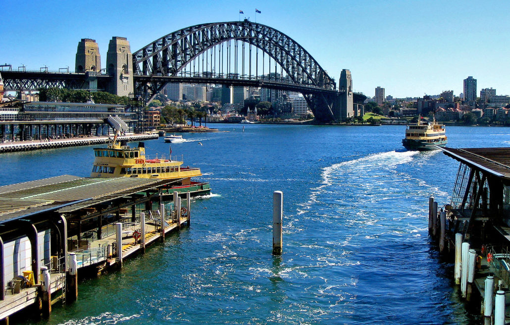 Manly Australia ferries circular quay