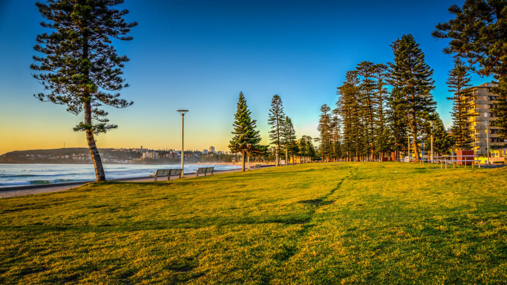 Sydney Harbour National Park Manly Australia