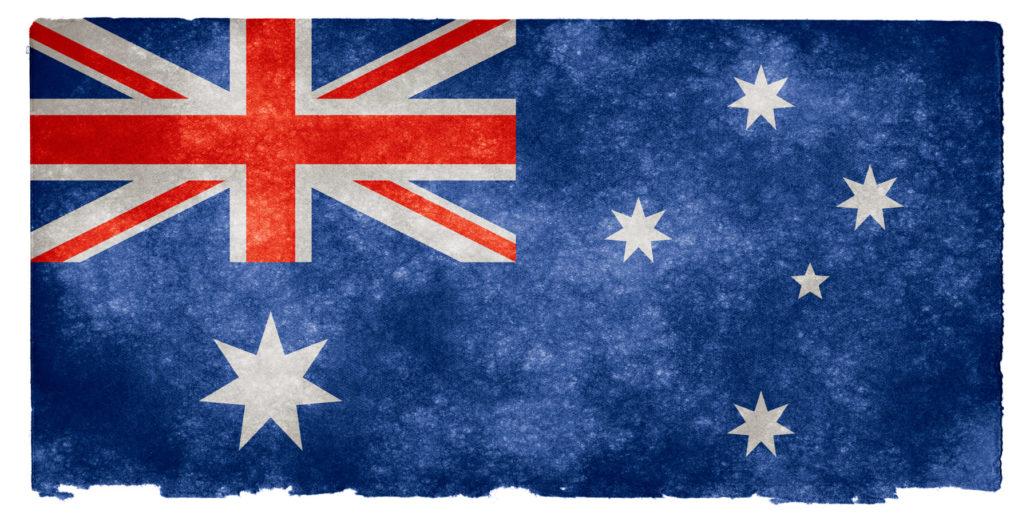 Andare in Australia flag