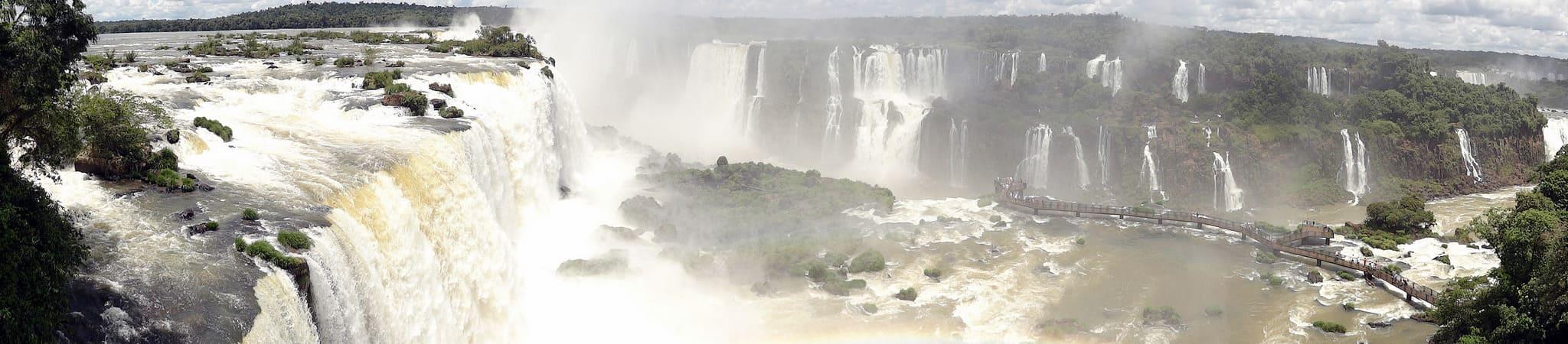 Cascate di Iguazu sud america