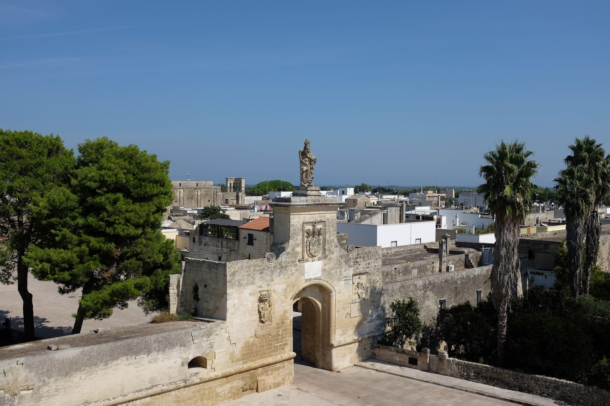 fortezza di Acaya borgo
