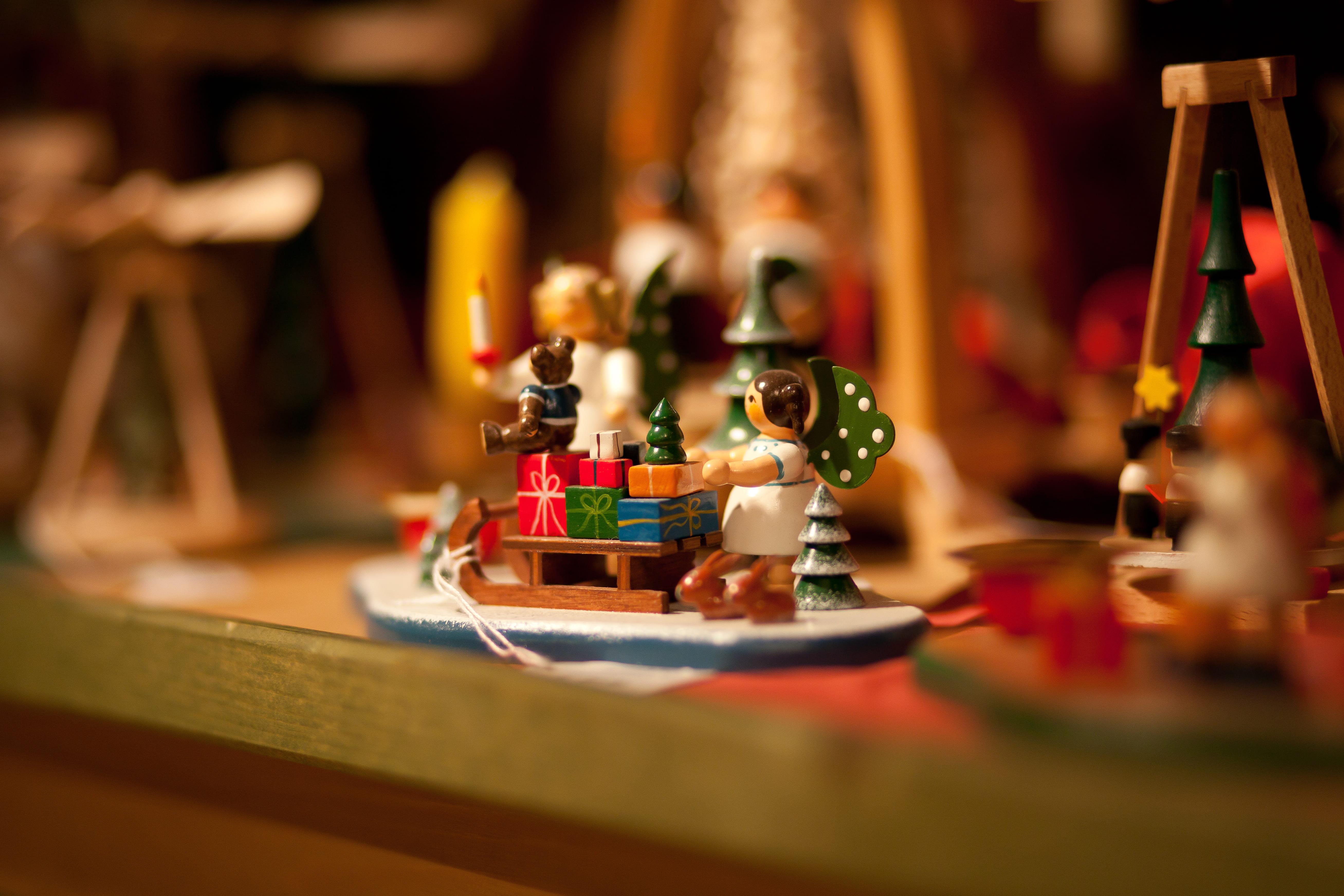 Regalo di un mercatino di Natale