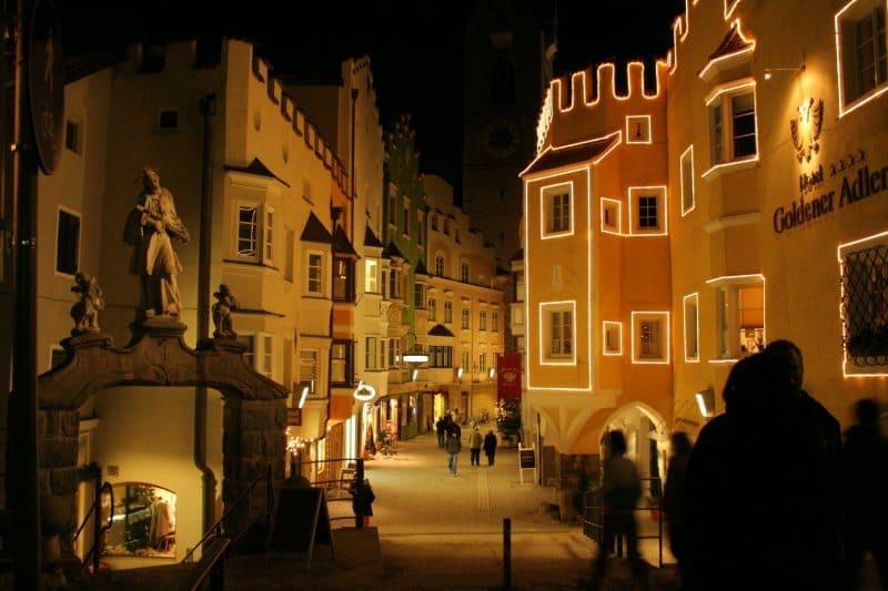 Luminarie mercatino bressanone