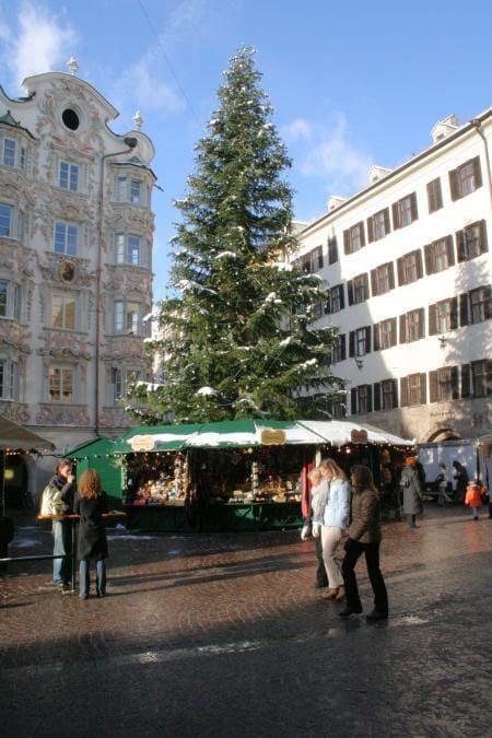 albero di Natale Innsbruck