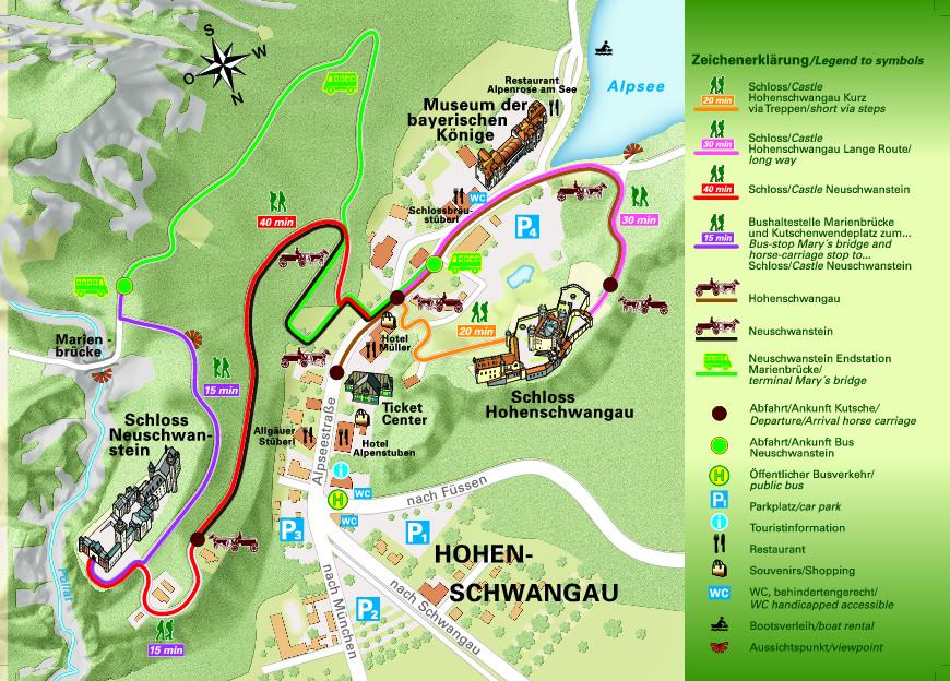 mappa castelli