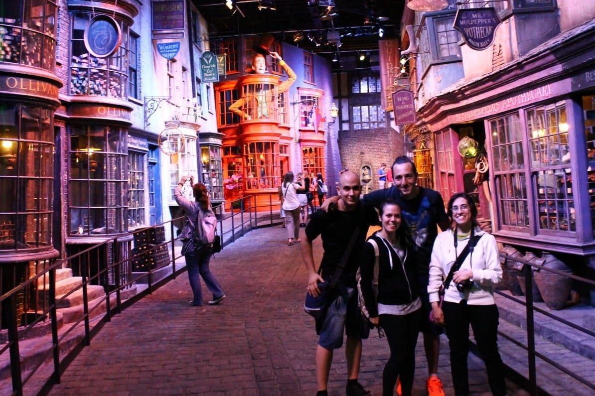 Harry potter tour racconto di viaggio