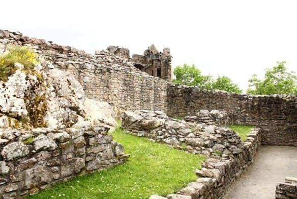 diario di viaggio castello di urquarth