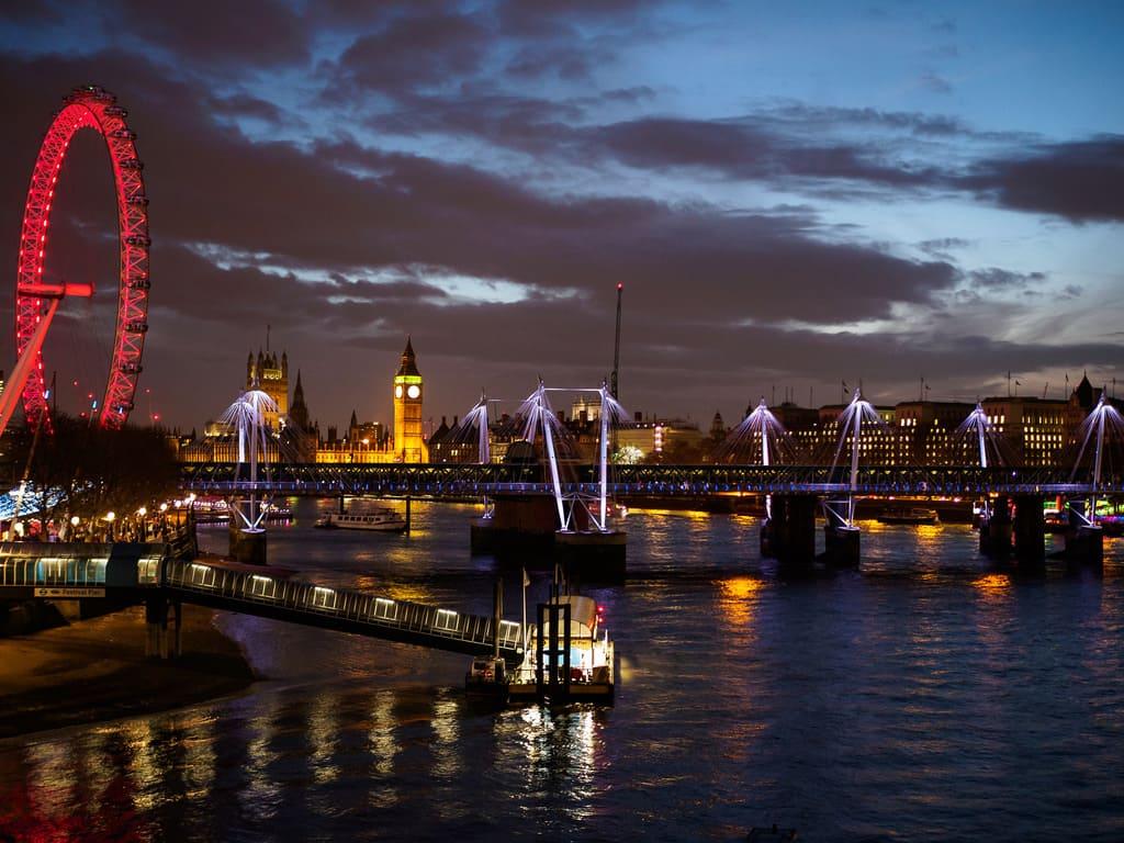 Londra notte 31 Dicembre