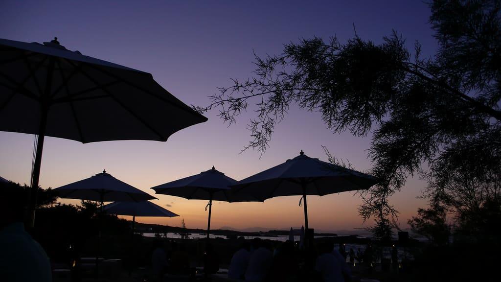 aperitivo formentera tramonto