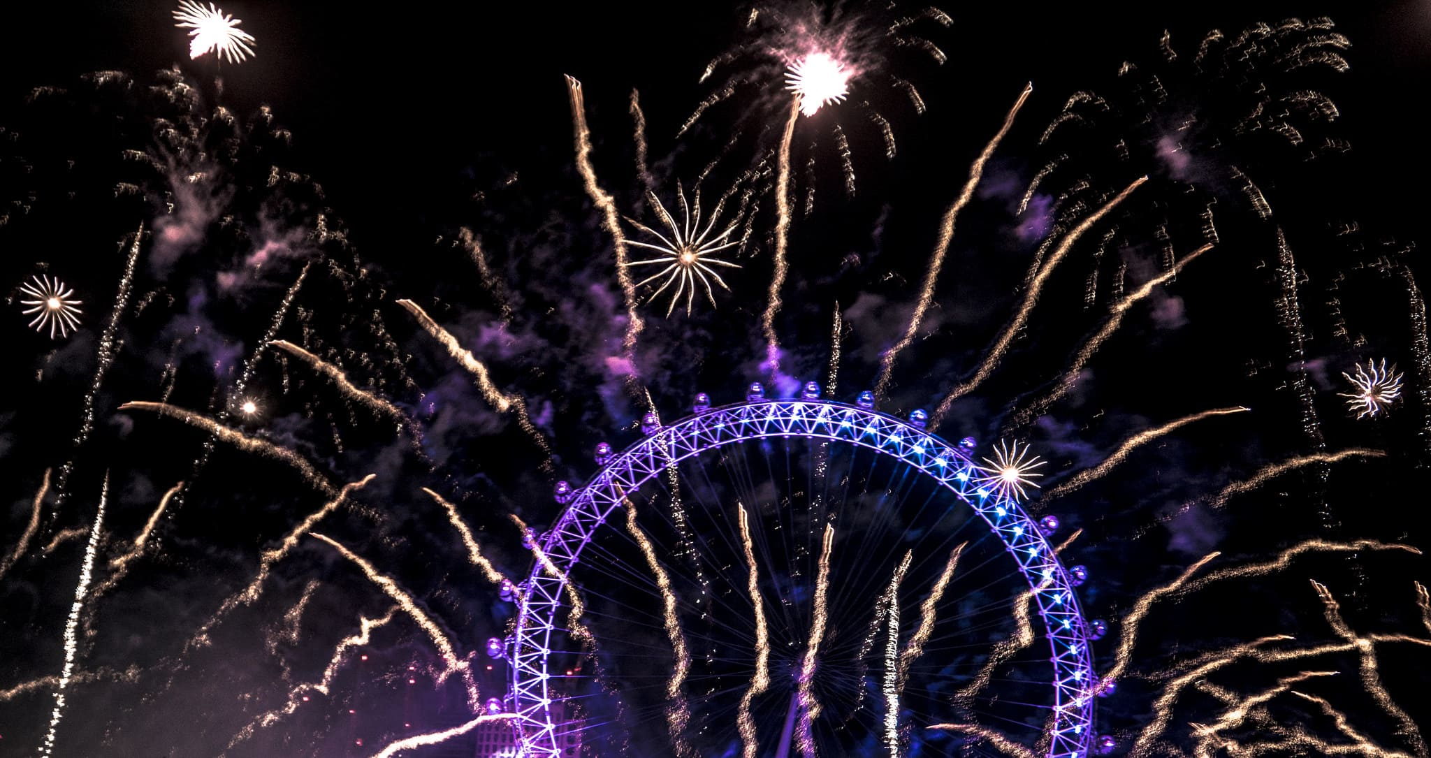 Capodanno London Eye