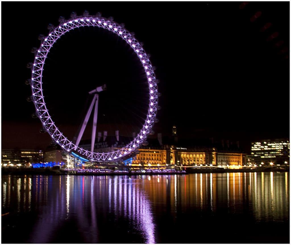 Londra notte San Silvestro