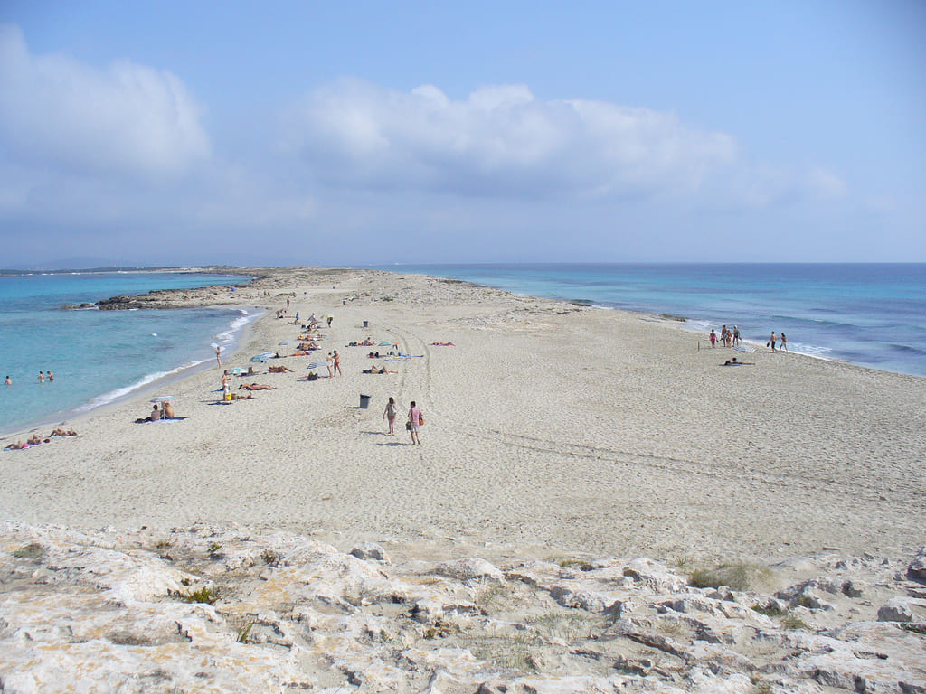 spiagge in scooter a Formentera