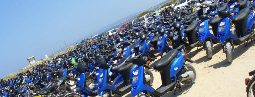 noleggiare scooter formentera