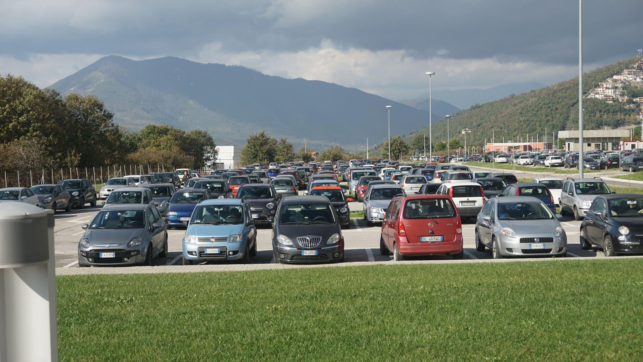Parcheggio Salerno centro