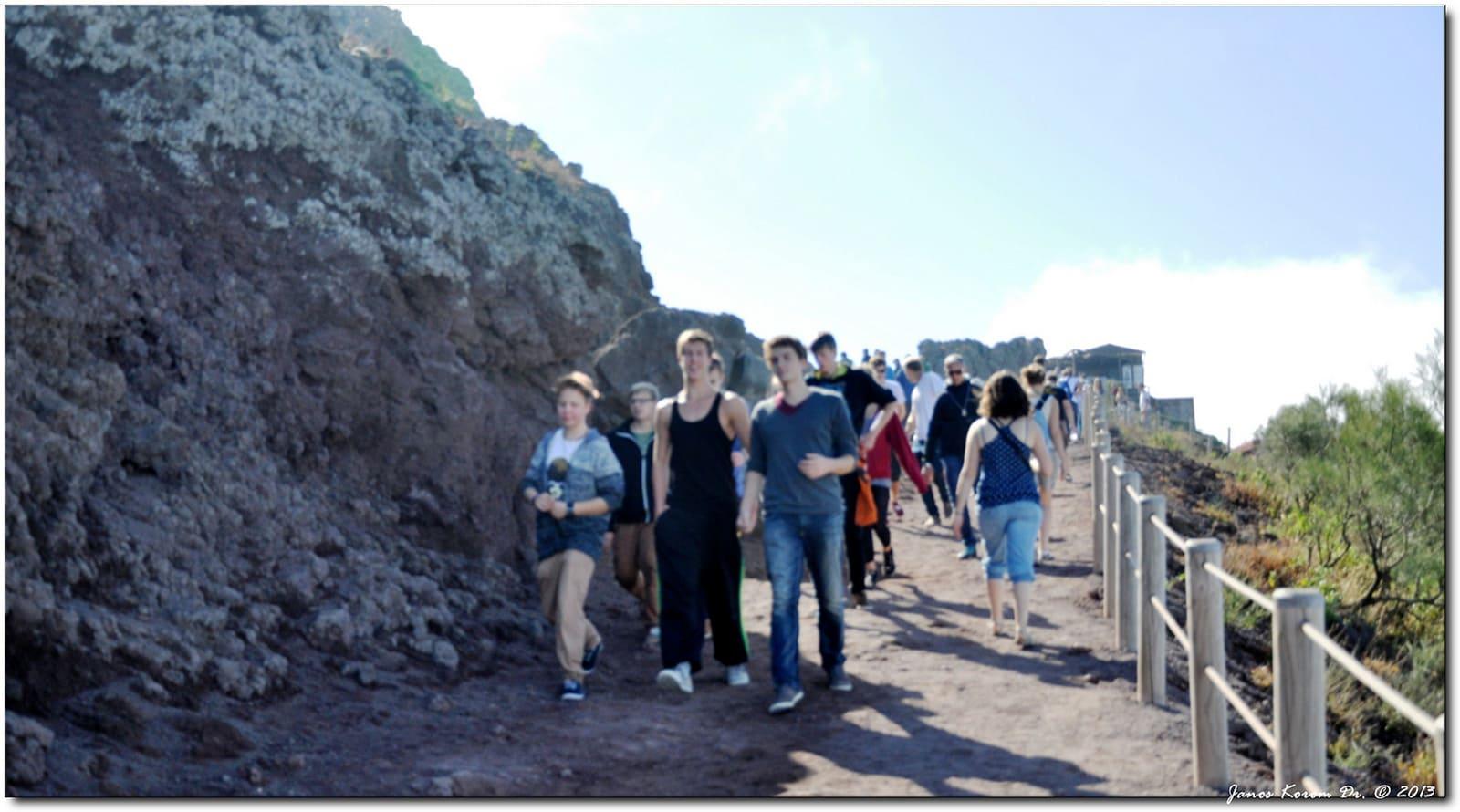 percorsi Vesuvio per escursioni