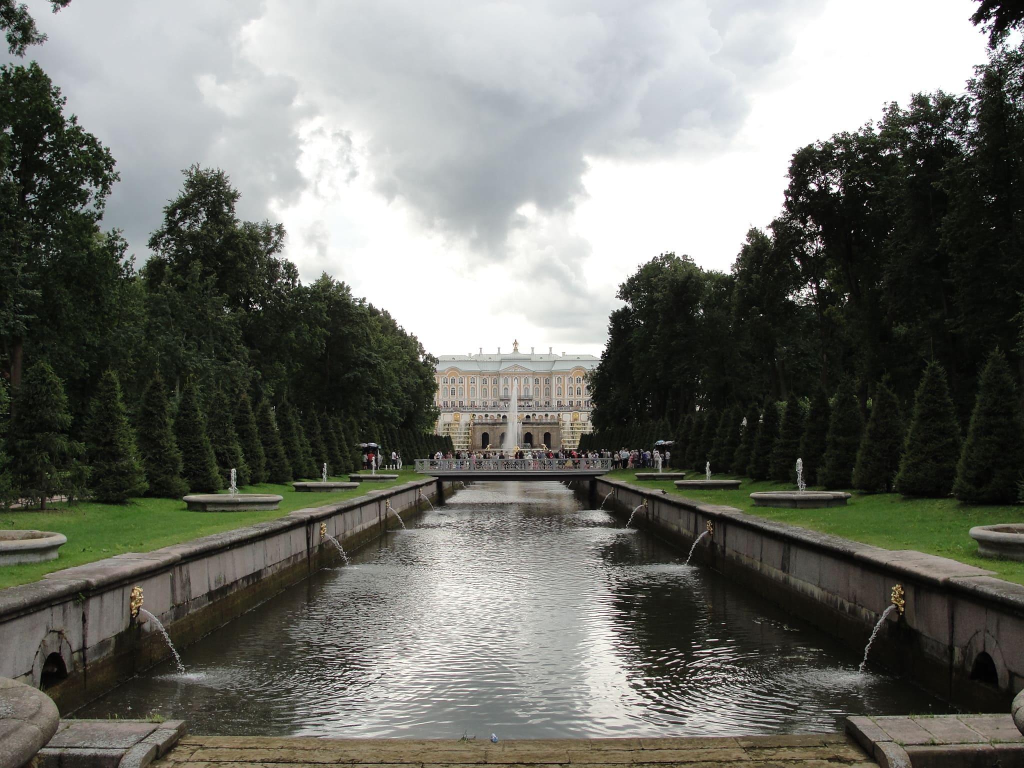 Peterhof fontane