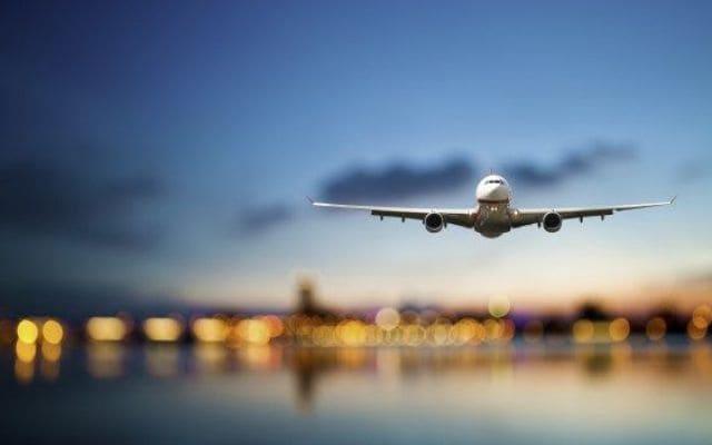 biglietto aereo aperto