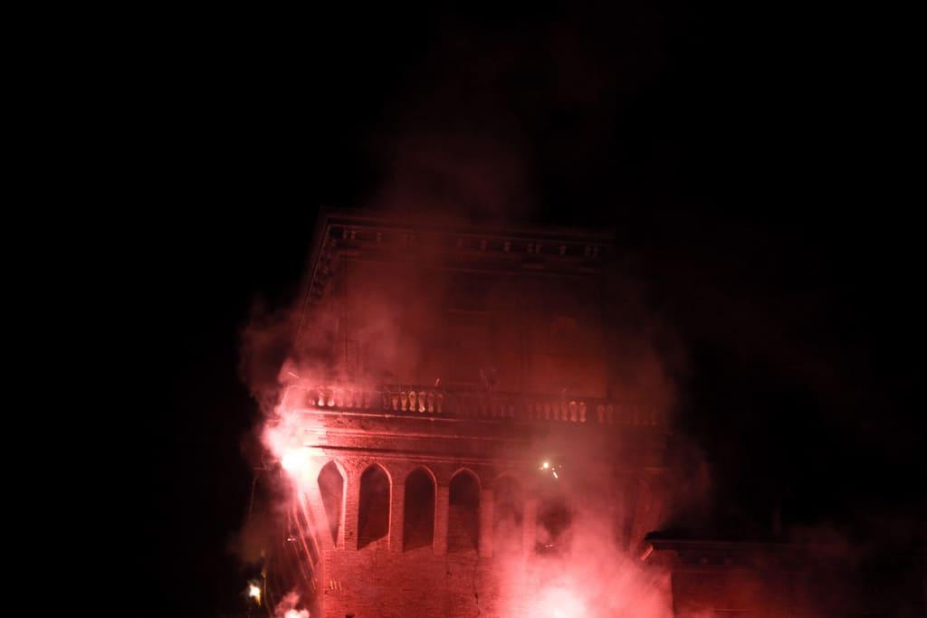 incendio castello estense ferrara