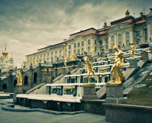 Peterhof San Pietroburgo