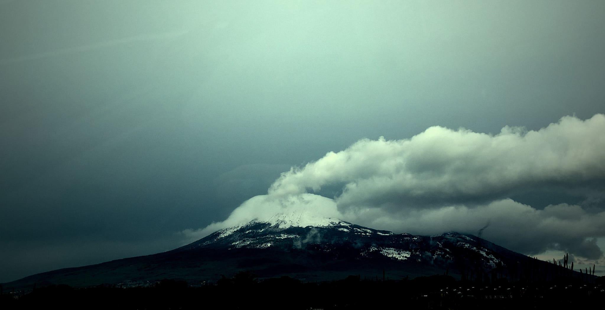 Vesuvio innevato