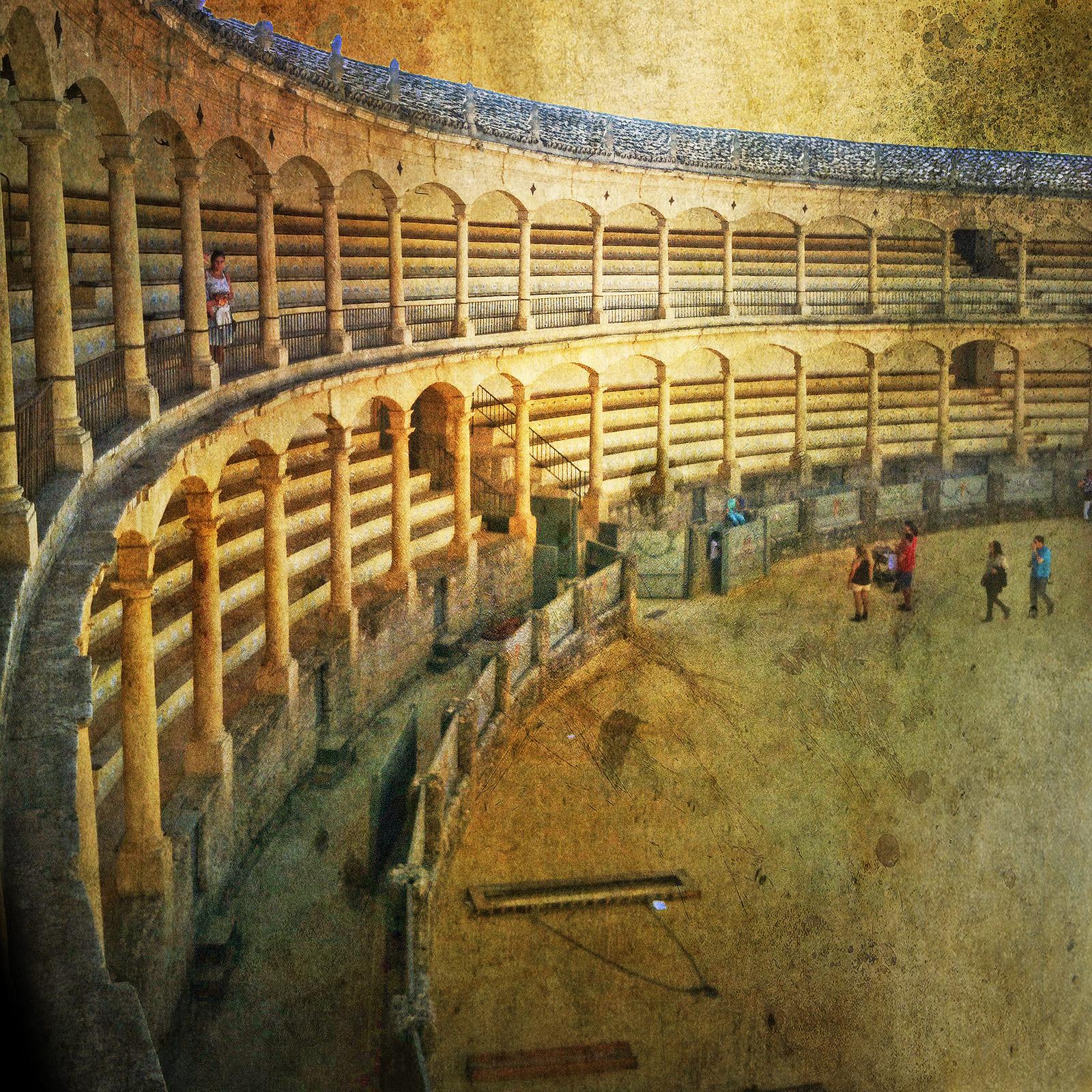 Ronda corrida andalusia