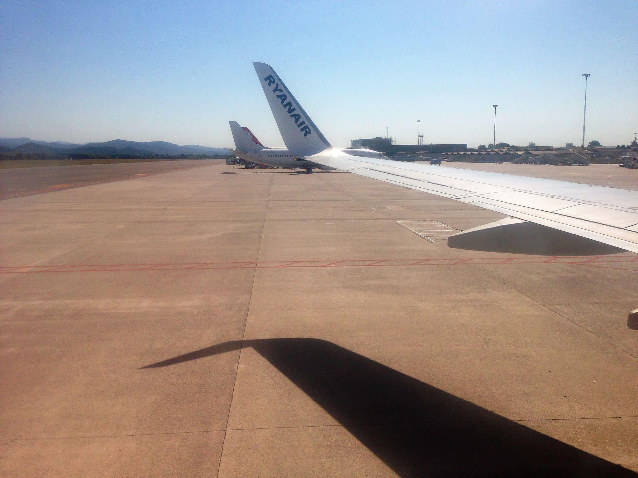 Pista di atterraggio - aeroporto di Bergamo