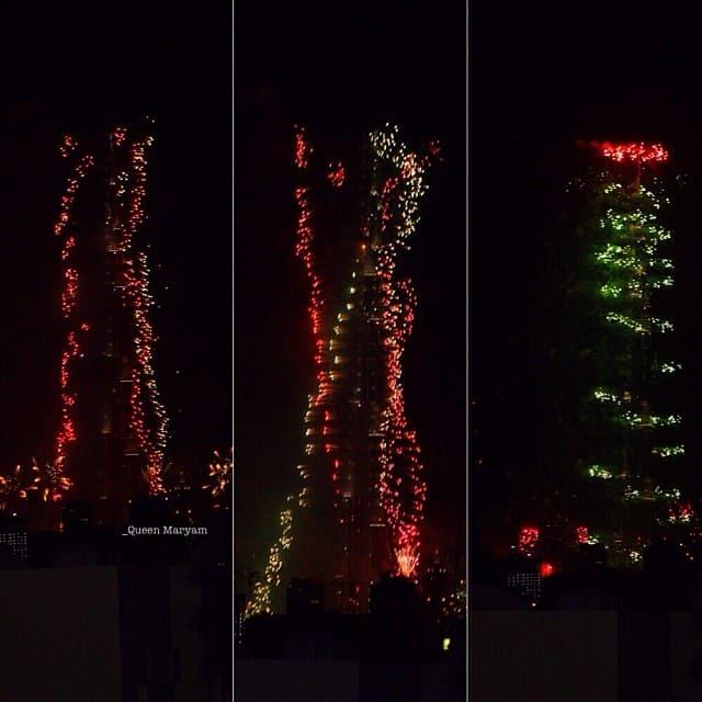 burj khalifa dubai capodanno