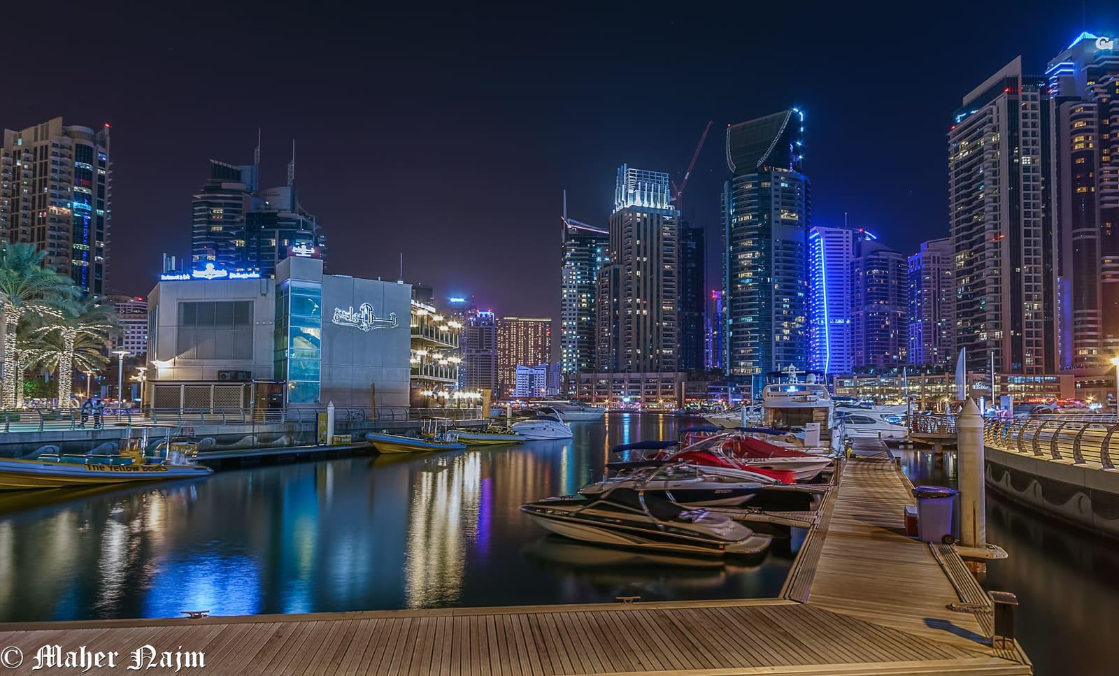 Dubai di notte 31 Dicembre