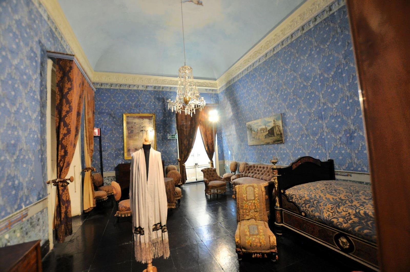 storia ed interni del castello