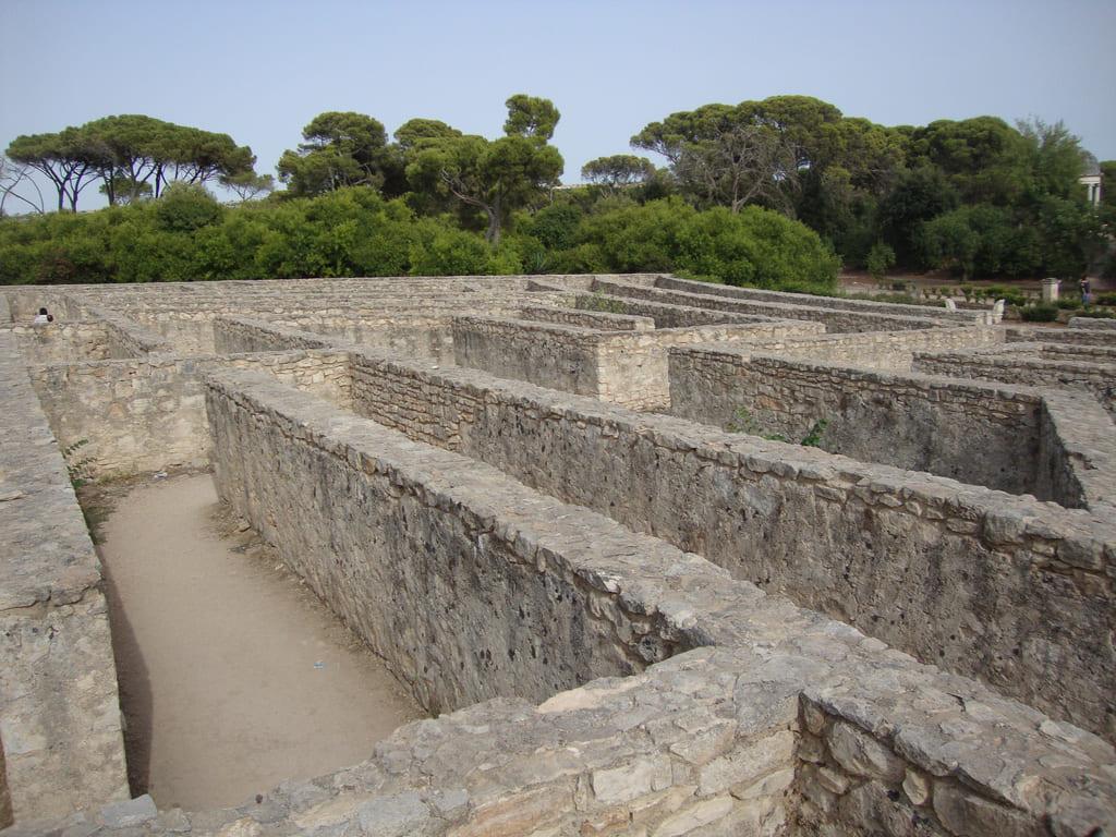 labirinto del castello di donnafugata