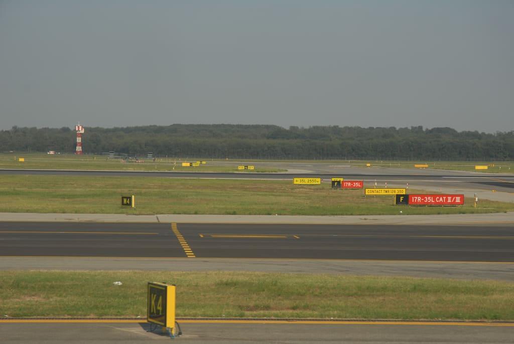 pista d'atterraggio dell'aeroporto di pescara