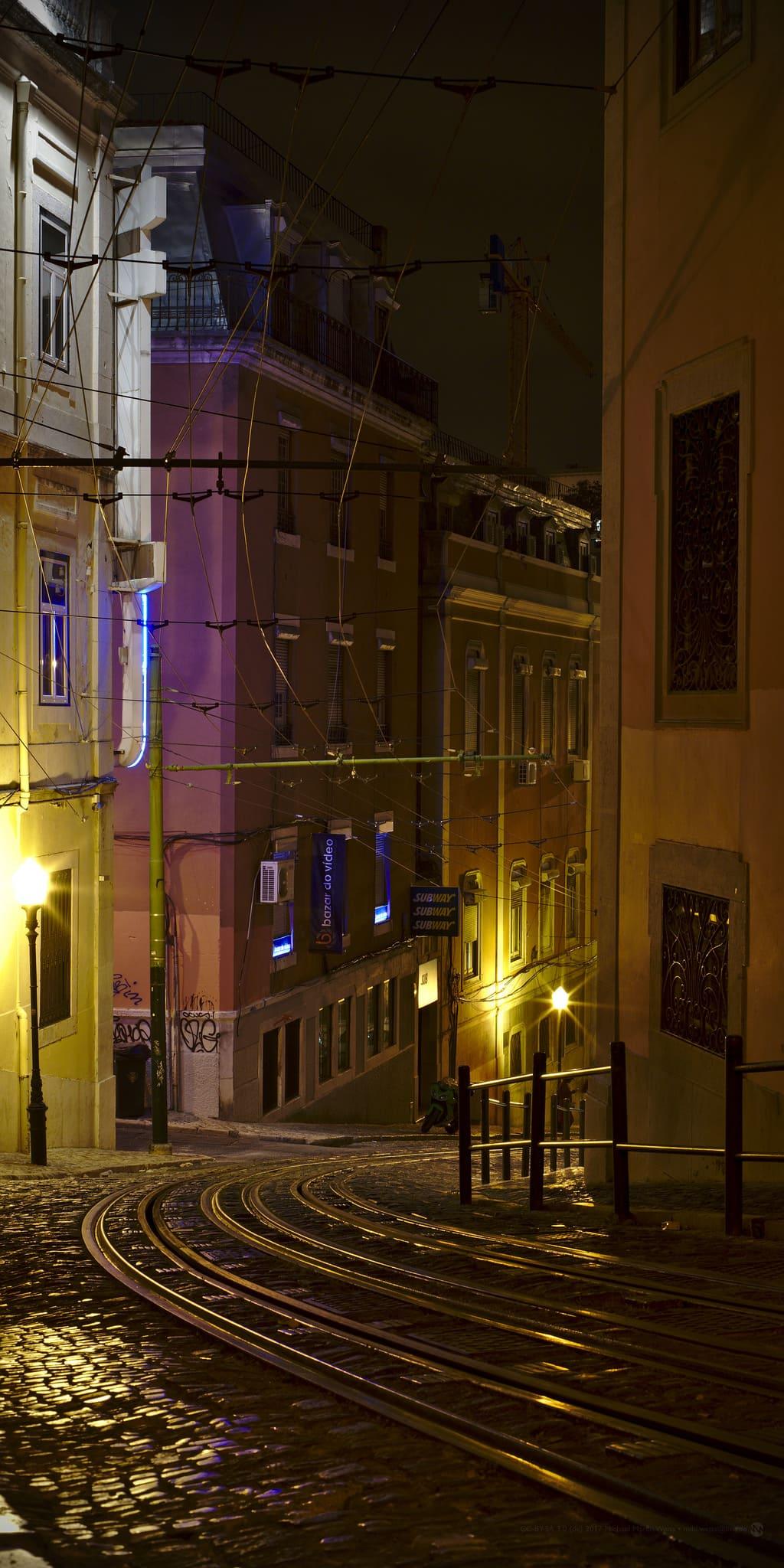 Lisbona tram tradizionale