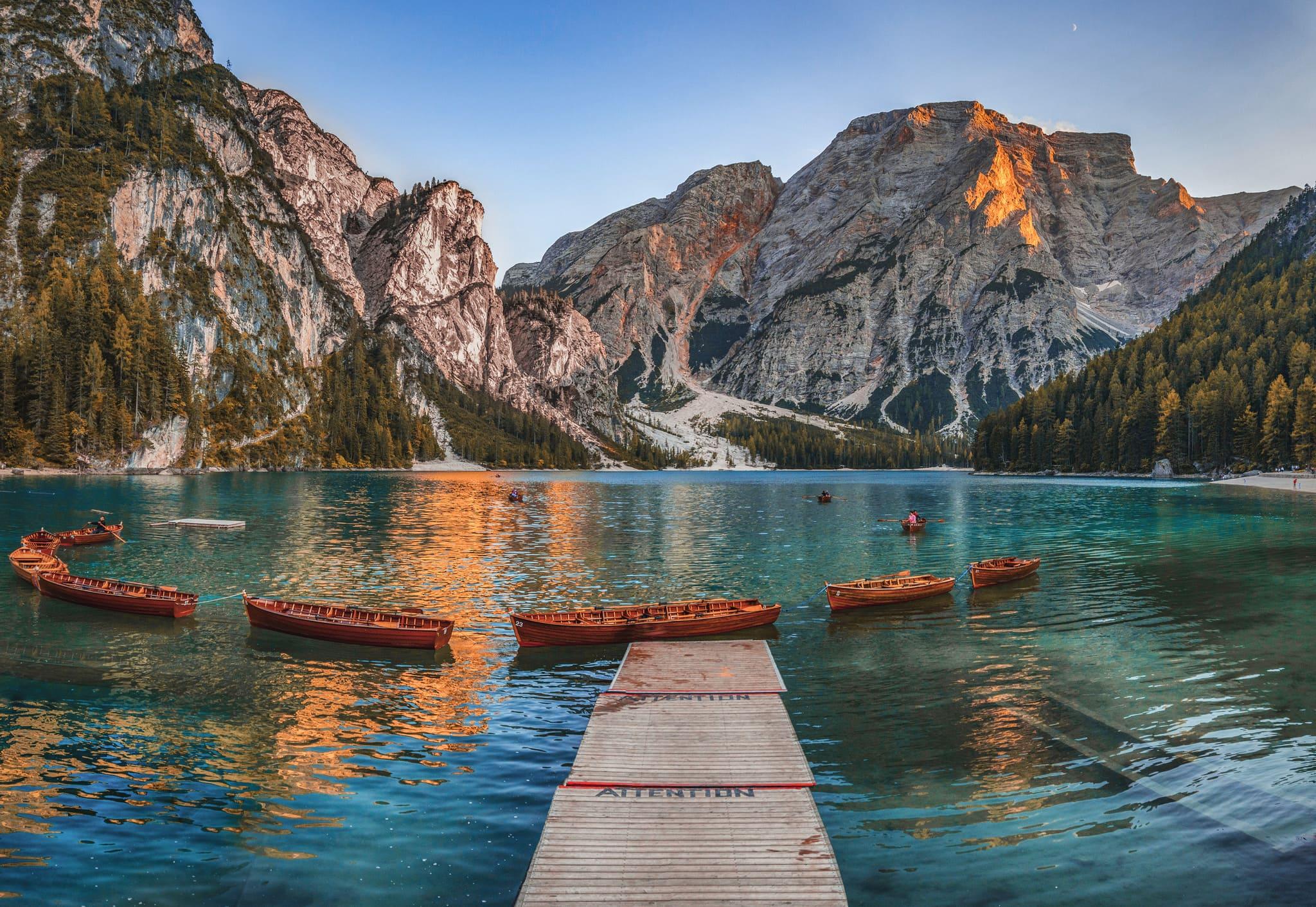 cosa vedere a Brunico - lago di braies