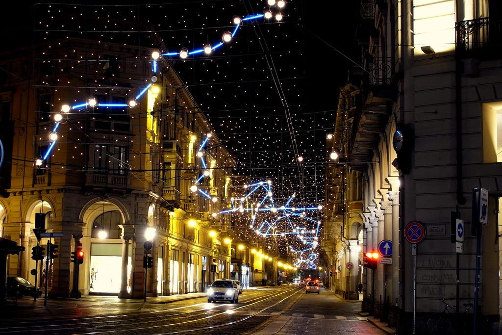 Luci di Capodanno a Torino