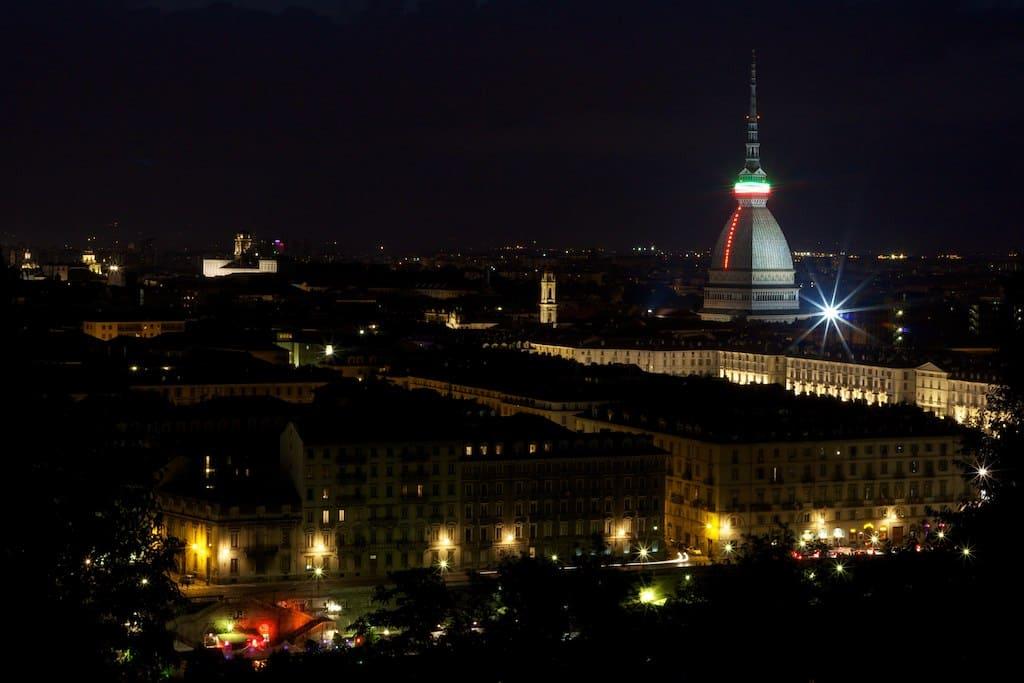 notte a Torino