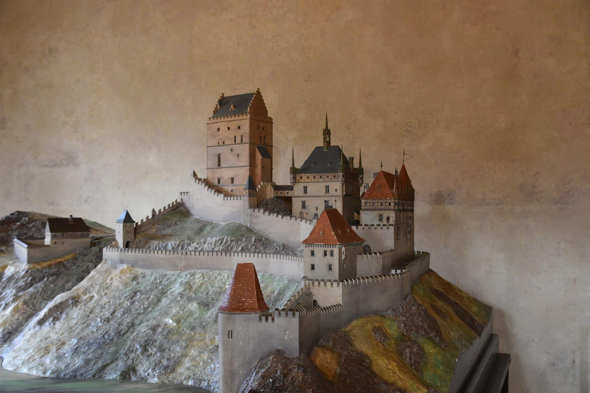 composizione del castello di Karlstejn