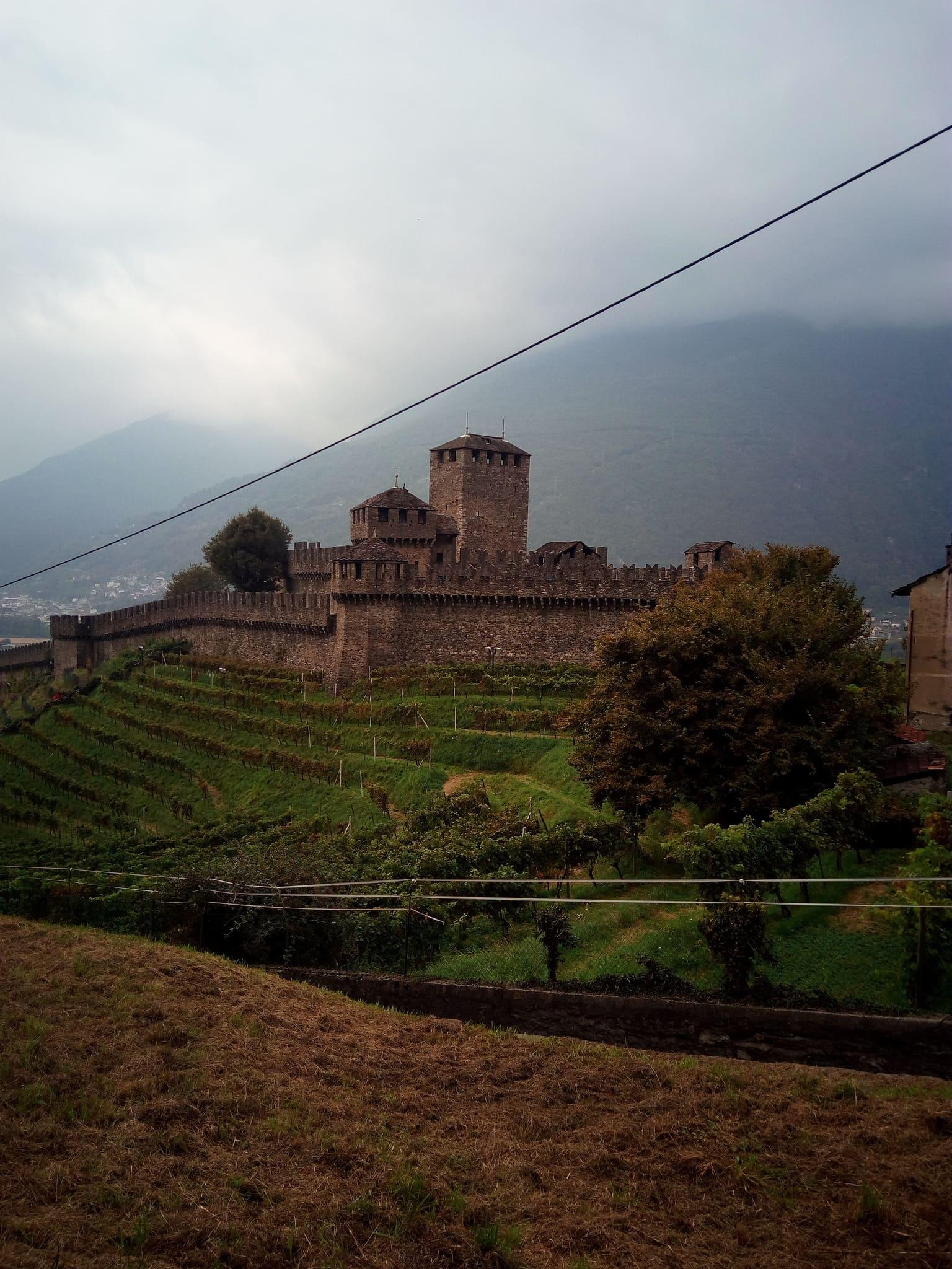 composizione e struttura del castello di Montebello
