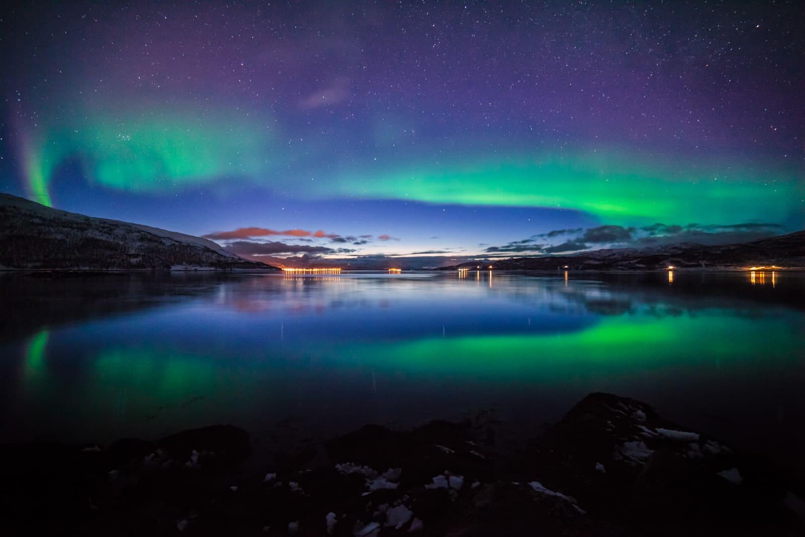 fotografare aurora boreale