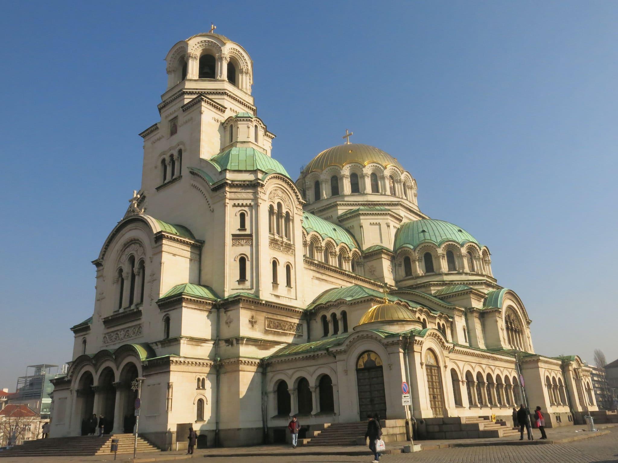 storia e costruzione cattedrale di Sofia