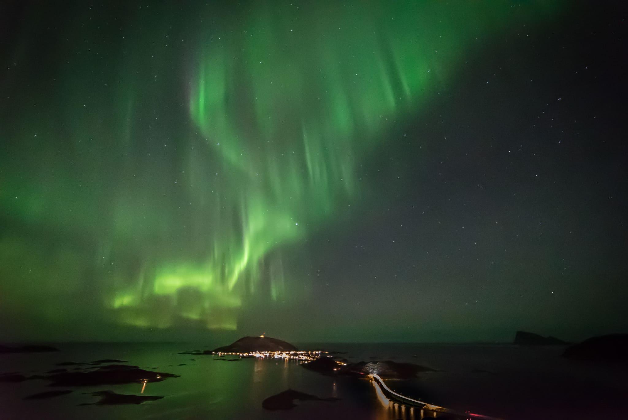 aurora boreale periodo