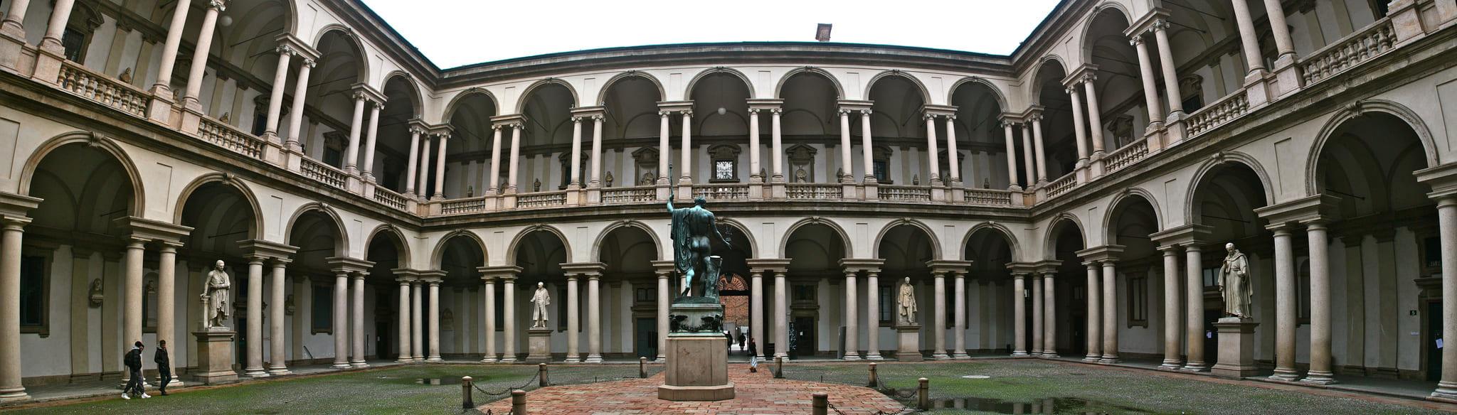 Pinacoteca di Brera - dove si trova il cenacolo Vinciano
