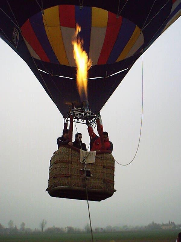 mongolfiere padova