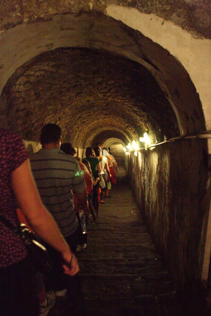 tunnel borbonico orari