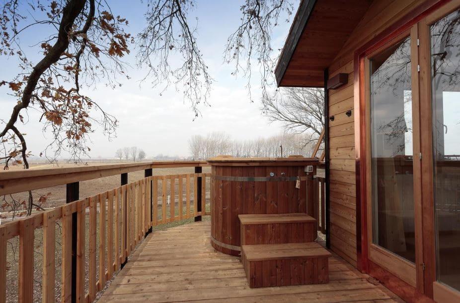 casa sull'albero Airbnb - Lombardia