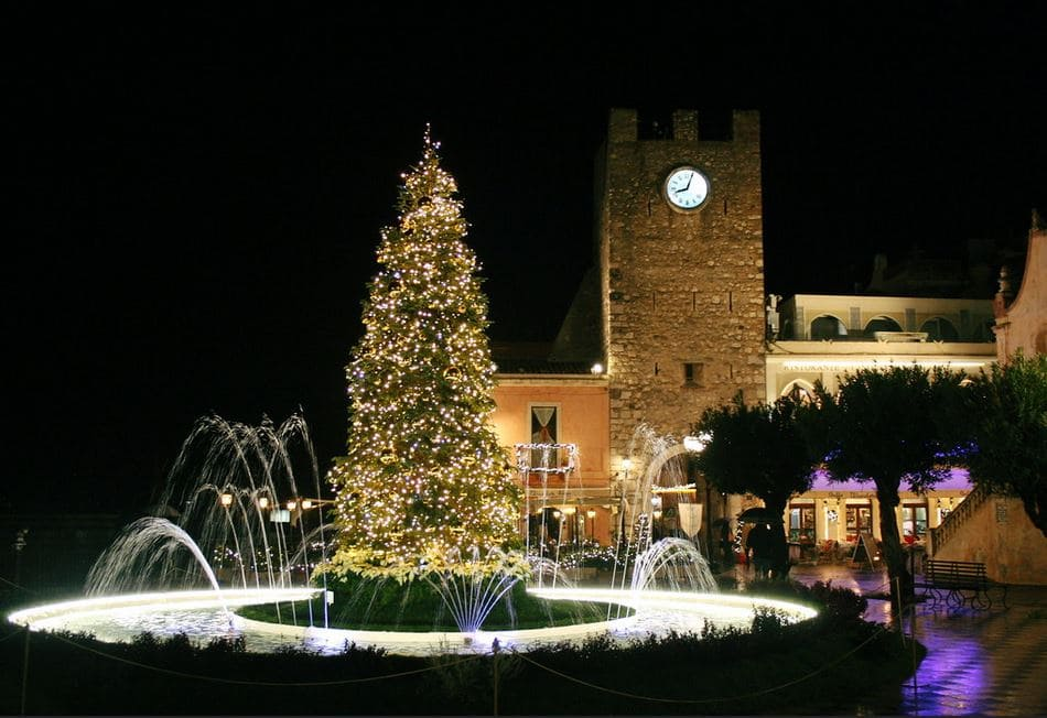 Capodanno a Taormina Luminarie