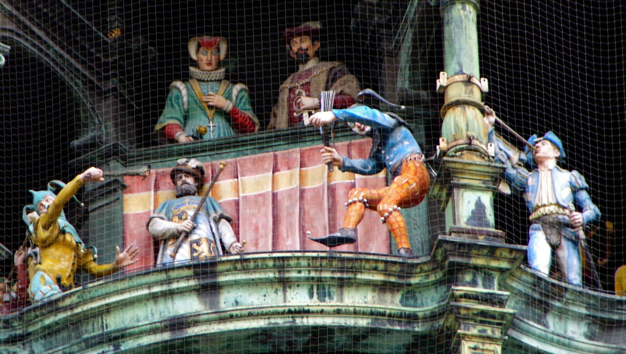 Carillon di Marienplatz - Monaco di Baviera