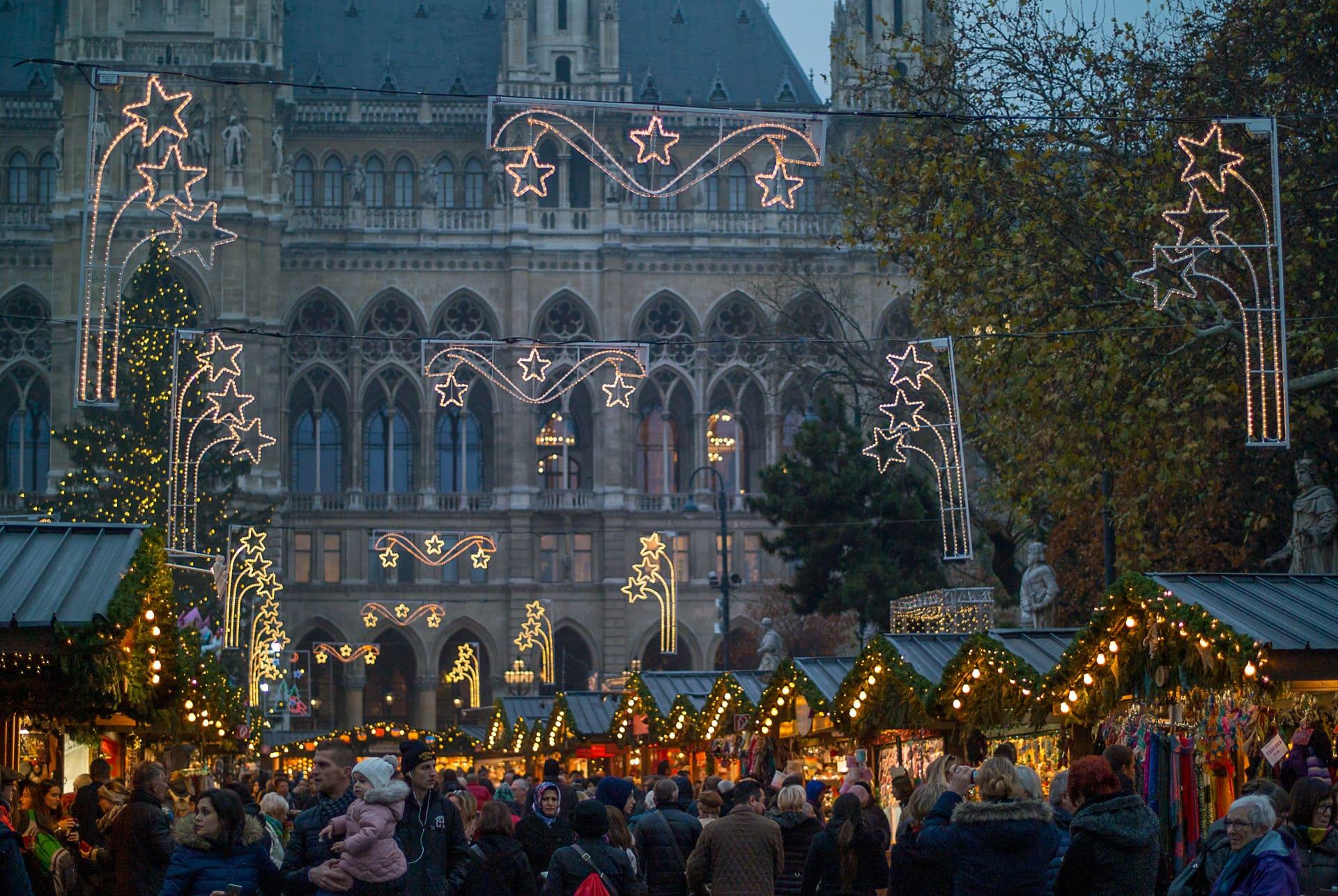 Mercatino di Natale Monaco di Baviera a Marienplatz