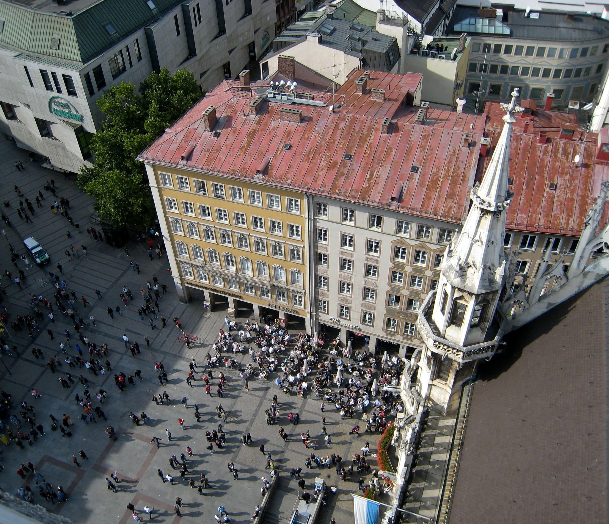 Torre centrale Marienplatz