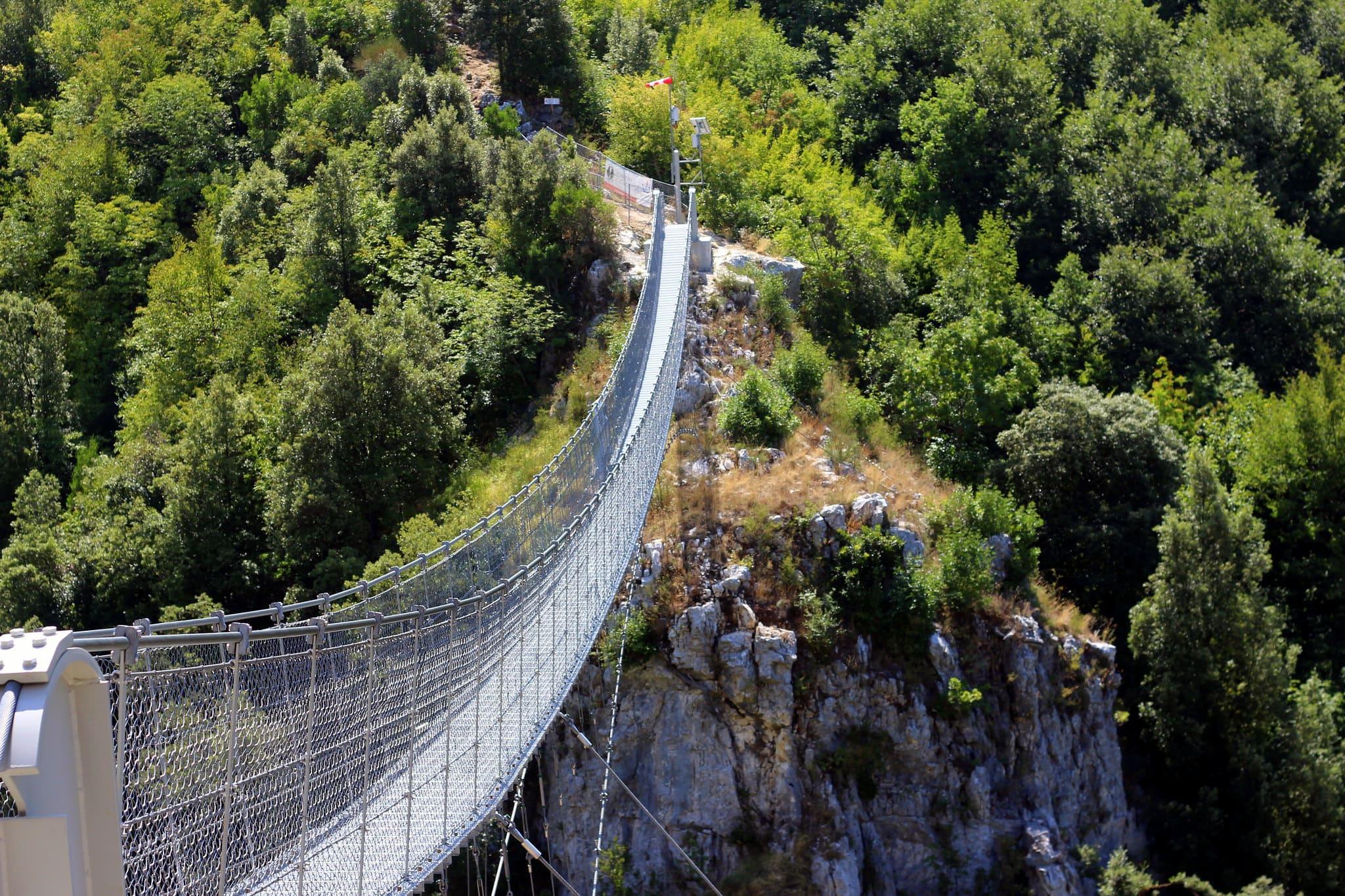 Ponte tibetano Claviere - Cesana